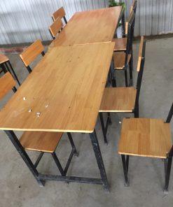 Bộ bàn ghế nhà hàng cũ thanh lý