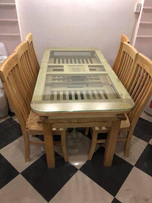 Bộ bàn ghế nhà hàng mã BGNA01