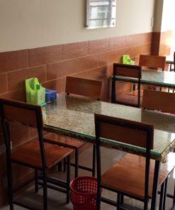 Bộ bàn ghế nhà hàng mã BGNH03