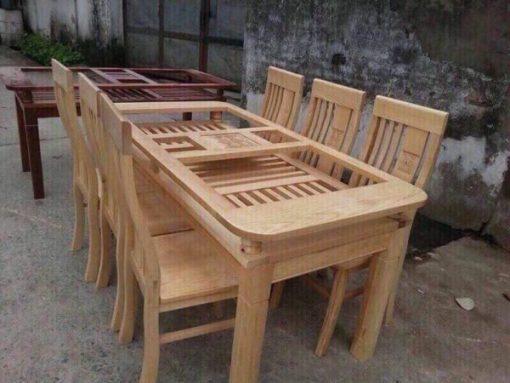 mặt bàn bộ bàn ghế nhà hàng mã BGNH01
