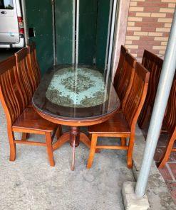Bộ bàn ghế nhà hàng mã BGNH02